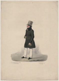 Unknown man, by and published by Richard Dighton, printed by  George Rowe - NPG D47113