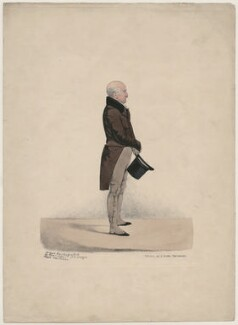 Unknown man, by and published by Richard Dighton, printed by  George Rowe - NPG D47114