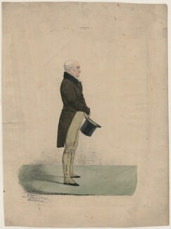 Unknown man, by and published by Richard Dighton, printed by  George Rowe - NPG D47115