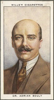 Sir Adrian Boult, published by W.D. & H.O. Wills - NPG D47175