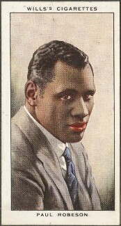 Paul Robeson, published by W.D. & H.O. Wills - NPG D47187