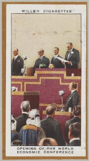 'Opening of the World Economic Conference' (Ramsay MacDonald; King George V and others), by Unknown artist - NPG D47253