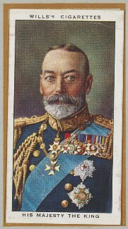 'His Majesty the King' (King George V), by Unknown artist - NPG D47263