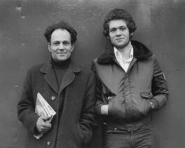 Frank Auerbach; Jake Auerbach, by Harry Diamond - NPG x199576