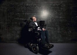 Stephen Hawking, by Richard Ansett - NPG x199386