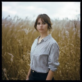 Felicity Jones, by Laura Pannack, 3 February 2016 - NPG  - © National Portrait Gallery, London