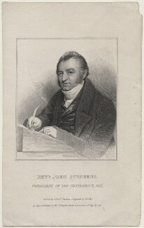 John Stephens, by William Thomas Fry, after  John Jackson - NPG D47370