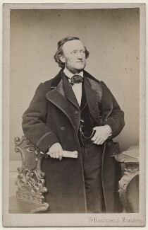 Richard Wagner, by Franz Hanfstaengl - NPG x196256