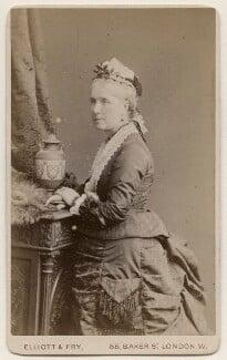 Caroline Eliza Grey (née Farquhar), by Elliott & Fry - NPG x196260