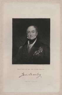 Sir Gore Ouseley, 1st Bt, by Henry Richard Cook, published by  Fisher Son & Co, after  Richard Rothwell - NPG D47376