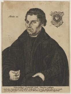 Martin Luther, after Lucas Cranach the Elder - NPG D47378