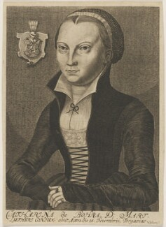 Katharina Luther (née von Bora), by Engelhardt Nunzer, after  Lucas Cranach the Elder - NPG D47387