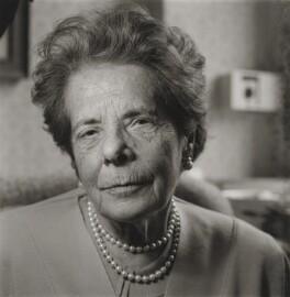 Eva Urvasi Neurath (née Itzig), by Michael Woods - NPG x196216