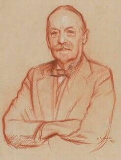 Arthur Bingham Walkley, by William Rothenstein - NPG 7026