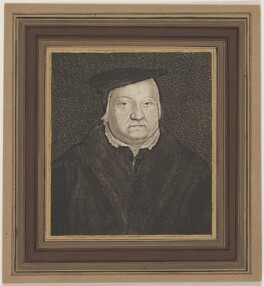 Called Martin Luther; possibly Gaspar Schets, by Wenceslaus Hollar - NPG D47384