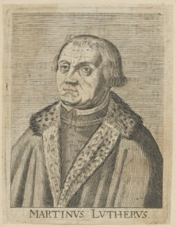 Martin Luther, after Hendrik Hondius (Hond) - NPG D47382