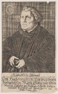 Martin Luther, probably after Lucas Cranach the Elder - NPG D47381