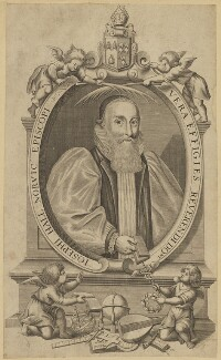 Joseph Hall, probably after Crispyn van den Queborne - NPG D45810