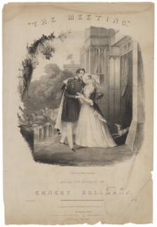Prince Albert of Saxe-Coburg-Gotha; Queen Victoria, published by Jefferys & Co, after  Unknown artist - NPG D47391