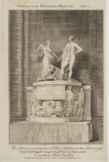 Monument to Richard Rundle Burgess in St Paul's Cathedral, published by James Asperne - NPG D47395