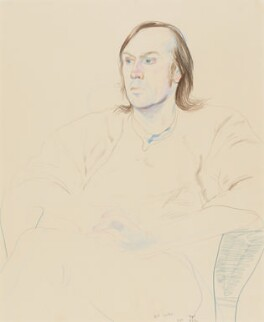 William Gaskill, by David Hockney - NPG 7027