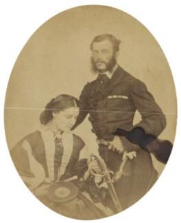 Mrs Henry John Wilkin; Henry John Wilkin, by Unknown photographer - NPG Ax196709