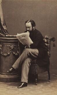 Algernon Borthwick, 1st Baron Glenesk, by Disdéri - NPG Ax196764