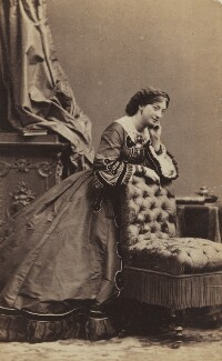 Eliza Price Noble (née Campbell), Lady Otway (later Mrs Leathem), by Disdéri - NPG Ax196765