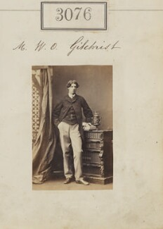 William Oswald Gilchrist, by Camille Silvy - NPG Ax52477