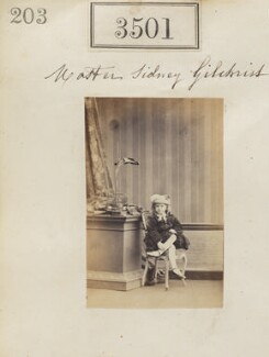 Sydney James Learmonth Gilchrist, by Camille Silvy - NPG Ax52897