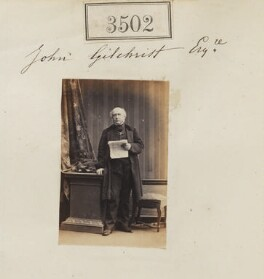 John Gilchrist, by Camille Silvy - NPG Ax52898