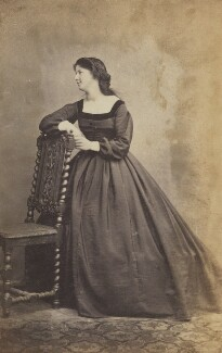 Called Eliza Price Noble (née Campbell), Lady Otway (later Mrs Leathem) (Unknown woman), by Unknown photographer - NPG Ax196832