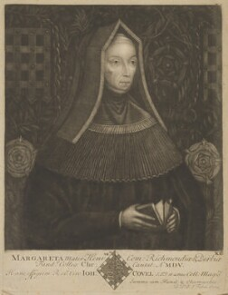 Lady Margaret Beaufort, Countess of Richmond and Derby, by John Faber Sr, after  Unknown artist - NPG D47404