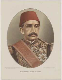 Abdul Hamid II, Sultan of the Ottoman Empire, published by Cassell & Company, Ltd, after  W. & D. Downey - NPG D47407