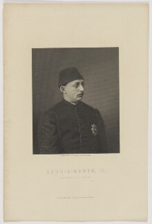 Abdul Hamid II, Sultan of the Ottoman Empire, by George J. Stodart, published by  William Mackenzie, after  Unknown artist - NPG D47408