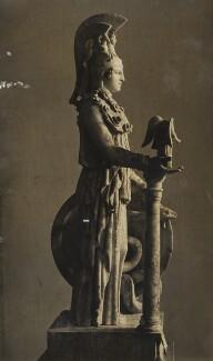 Roman reproduction of chryselephantine statue, by Lady Evelyn Hilda Stuart Moyne (née Erskine) - NPG Ax183181