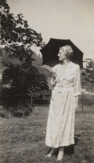 Clementine Ogilvy Spencer-Churchill (née Hozier), Baroness Spencer-Churchill, possibly by Lady Evelyn Hilda Stuart Moyne (née Erskine) - NPG x183309
