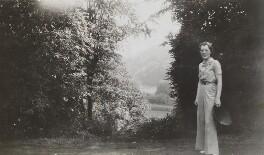 (Helen) Diana (née Bridgeman), Lady Abdy, possibly by Lady Evelyn Hilda Stuart Moyne (née Erskine) - NPG x183314