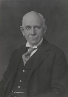 Hugh Richard Heathcote Gascoyne-Cecil, Baron Quickswood, by Walter Stoneman - NPG x166495