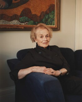 Angela Allen, by Eva Vermandel - NPG x199411