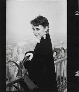 Audrey Hepburn, by George Douglas - NPG x199655