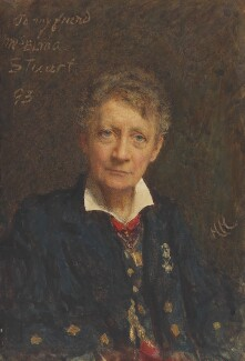 Elma Stuart, by Sir Hubert von Herkomer - NPG 7028