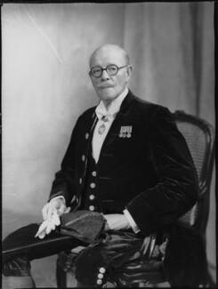 Sir Cuthbert de Hoghton, 12th Bt, by Navana Vandyk - NPG x130541