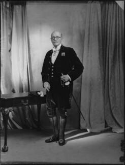 Sir Cuthbert de Hoghton, 12th Bt, by Navana Vandyk - NPG x130544