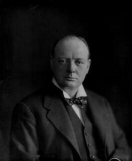 Winston Churchill, by Vandyk - NPG x129684