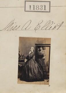 A. Elliott, by Camille Silvy - NPG Ax61510
