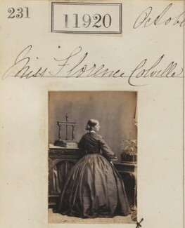 Florence Colville, by Camille Silvy - NPG Ax61598