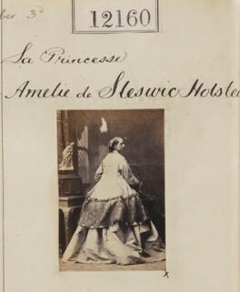 La Princesse de Amelie Schleswig Holstein, by Camille Silvy - NPG Ax61832