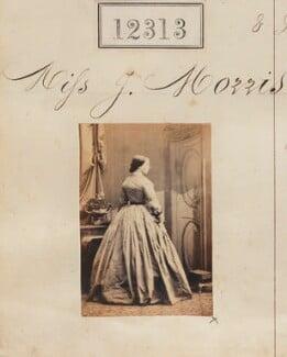 J. Morris, by Camille Silvy - NPG Ax61968