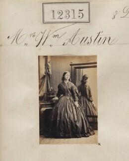Mrs William Austin, by Camille Silvy - NPG Ax61970